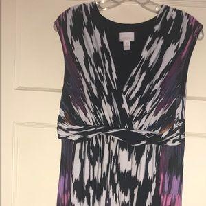 Chicos Maxi dress size 1